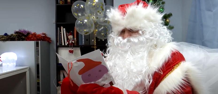 Дамир Юсупов стал Дедом Морозом